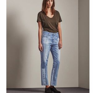 AG Vintage-fit high-rise jeans size 31 NWT
